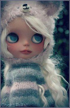 Blythe, custom blythe, caracterización blythe, winter, invierno, doll clothing, ropa de muñeca, winter