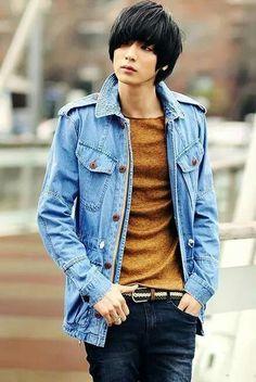 Won jong jin cute asian guys, hot asian men, asian boys, b fashion Korean Fashion Ulzzang, Korean Fashion Winter, Korean Fashion Summer, Korean Fashion Men, Korean Street Fashion, Young Fashion, Asian Fashion, Won Jong Jin, Cute Asian Guys