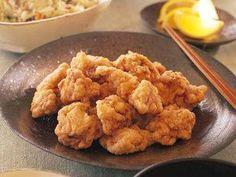 鶏の黄金揚げレシピ 講師は藤野 真紀子さん|衣にコクがあるので、レモンを絞ってあっさりと食べるのがベスト。