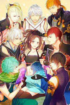Gruppen Bild mit allen Anspielbaren und nicht Anspielbaren Figuren Group picture with all playable on and not to playable characters
