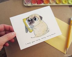 This adorable puppy love. | 19 Perfect Valentine's Day Cards For All Couples In Long Distance Relationships