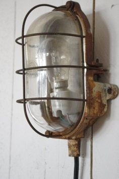 Vintage wall light Repinned by www.silver-and-grey.com
