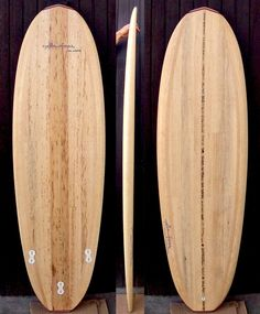 "YELLOWFOOT wooden surfboards: Flo VD's ""Prainha"""