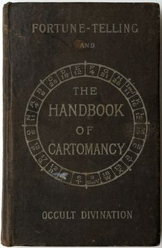 "the-two-germanys: "" The Handbook of Cartomancy: Fortune-Telling and Occult Divination Grand Orient London: William Rider, Ltd. Vintage Book Covers, Vintage Books, Photographie Post Mortem, Books To Read, My Books, Occult Books, Fortune Telling, Palmistry, Book Of Shadows"