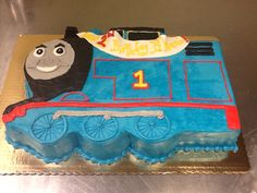 Thomas the Train 1/2 Sheet Cake!