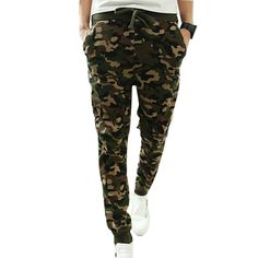 M 2XL 2016 Mens Jogger Autumn Pencil Harem Pants Men Camouflage Military  Pants Loose Comfortable Cargo Trousers Camo Joggers-in Skinny Pants from  Men s ... 3208c0e86c00