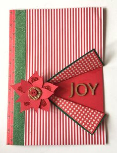 3 Ways to Make a Traditional Christmas Card #traditional #christmas #card #making #craft #papercraft