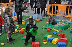 Actividades Navidad 2012. Juegos en Ensanche Área Comercial Pamplona