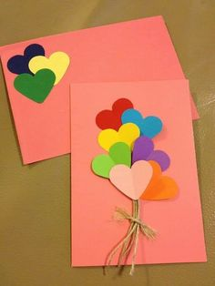 Every Mother's Daytime, you have the occasion to tell each of your mom how amazing she actually is. Handmade Birthday Cards, Greeting Cards Handmade, Paper Cards, Diy Cards, Birthday Card Drawing, Handmade Christmas Decorations, Mothers Day Crafts, Diy Arts And Crafts, Diy Gifts