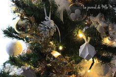sapin 2015 christmas tree doré et blanc golden white