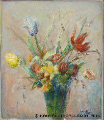 Kansallisgalleria - Taidekokoelmat - Maalaus Flower Vases, Flowers, Bouquet, Gallery, Painting, Art, Museum, Art Background, Roof Rack
