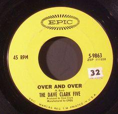 dave clark five 45 label 45 Records, Vinyl Records, Center Labels, The Dave Clark Five, Fun Music, Record Art, Rock N Roll Music, Music Radio, British Invasion