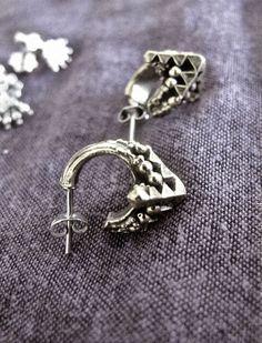 Geometric earrings by Forbidden Fruit  https://www.facebook.com/forbiddenfruitjewelery/app_251458316228