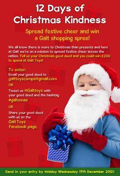 Spreading a little festive cheer with Galt Toys