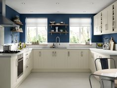 The Ohio cream shaker kitchen is part of our Ready to fit kitchen range, Available online or in store now. Cream Kitchen Walls, Cream Shaker Kitchen, Cream Kitchen Cabinets, Green Kitchen, Kitchen Wall Units, Kitchen Wall Colors, Ikea Kitchen, Kitchen Flooring, Kitchen Decor