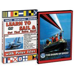 Bennett DVD - Sailboat Racing DVD Set w/Learn To Sail & Get That Extra Knot & The Shape Of Speed - https://www.boatpartsforless.com/shop/bennett-dvd-sailboat-racing-dvd-set-wlearn-to-sail-get-that-extra-knot-the-shape-of-speed/