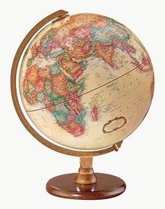 Hastings Replogle Globe - I like the old school look of this one