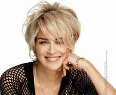 I love this hair cut!                             sharon stone 2014 | Labels: celeb , Photo , Sharon Stone