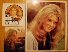 Lindsay Wagner; I loved her loft apartment in the show. She was a lovely persona on screen.