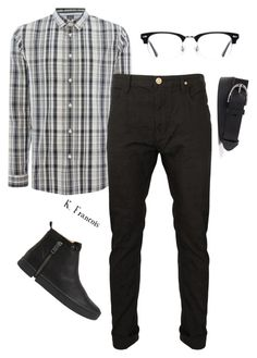 """""""Outfit11"""" by keeshafrancois on Polyvore featuring Vivienne Westwood Anglomania, Diesel, Ace, men's fashion and menswear"""