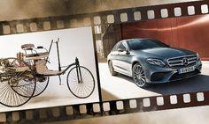 Carl Benz meldet Patent an: Heute vor 130 Jahren beginnt die Erfolgsstory von Mercedes-Benz.