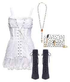 """""""Untitled #5984"""" by teastylef ❤ liked on Polyvore featuring Dolce&Gabbana"""