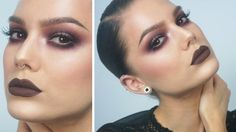 Autumn Makeup For Brown Eyes - Linda Hallberg Tutorials - YouTube