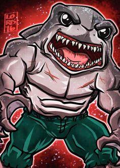King Shark by Lord Mesa