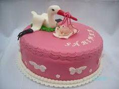 Výsledek obrázku pro čáp na dortu
