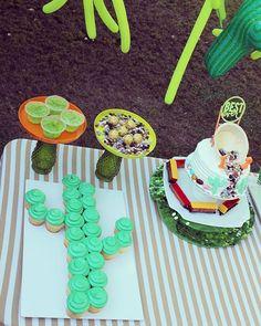 Cactus cupcakes! #cupcakes #cactus #bestever