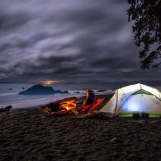 «I really must say, despite being colder and wetter I really do enjoy camping on the beaches in the PNW. Probably more so then the crowded, overly…»