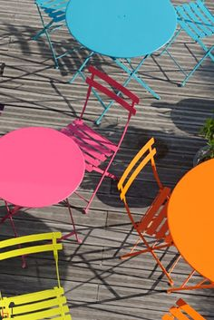 If you are looking for a super functional outdoor chair, Metal Bistro chair by Fermob is the right one for you.
