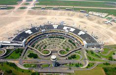 Galeão, el aeropuerto de Río de Janeiro - http://riodejaneirobrasil.net/galeao-el-aeropuerto-de-rio-de-janeiro/ #RioDeJaneiro #Brasil #Turismo