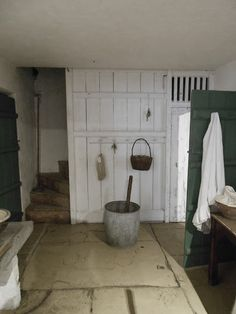 I wish our basement laundry room looked like this. It could...
