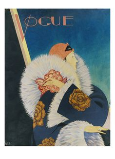 Vintage Vogue cover by George Wolfe Plank, January 1927 Vogue Magazine Covers, Fashion Magazine Cover, Magazine Art, Vogue Vintage, Vintage Vogue Covers, Fashion Vintage, Mode Vintage Illustration, Art Deco Illustration, Moda Art Deco