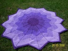 Sharon's Eclectic Retreat: Links for Free Round Afghan Crochet Patterns