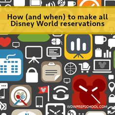 There are lots of different ways to contact Disney World, and I've spent the last several days on the phone verifying phone numbers and details about how to book all kinds of reservations for Disney World trips.  In this post, you'll see how and when to book just about anything, as well as...