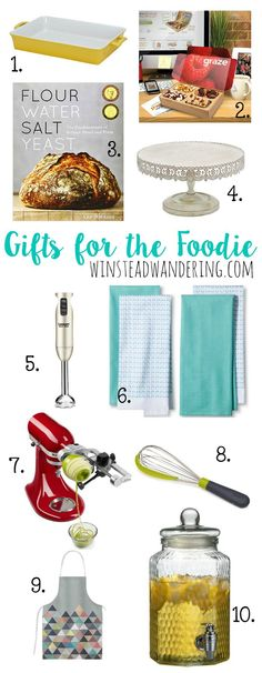 Mother's Day Guide: Gifts For the Foodie Mom: the best gift inspiration for the mom who loves to cook, bake, and feed her family and friends.