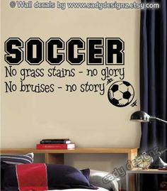 When people say soccer, remember us girls. Coed teams like mine mean you need to push harder, run faster, be tougher. To get a starting position we don't just stretch the limits, we break them.