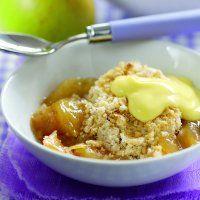 Phil Vickery's apple crumble