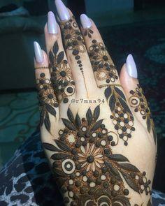 """Gefällt 13.7 Tsd. Mal, 55 Kommentare - ✨ Daily Henna Inspiration ✨ (@hennainspo_) auf Instagram: """"i love this mehndi style 😍 // by @r7maa94 . . . . . . #henna #mehndi #whitehenna #wakeupandmakeup…"""""""