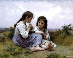 William Bouguereau - A childhood idyll