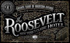 The Roosevelt Hotel - Pretty/Ugly Design - Graphic Designer Ben Didier