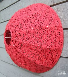 Lampshade finished by solgrim, via Flickr. @Moran Malron I want one like this!!