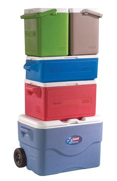 Coleman 25-Quart Party Stacker Cooler, Green : Amazon.com : Sports & Outdoors