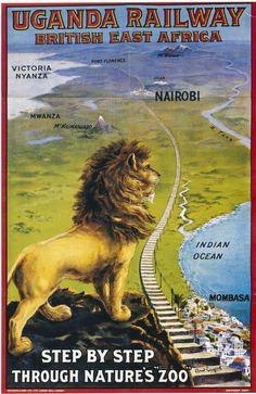 British Railways Ugandan East Africa