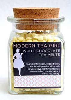 Modern Tea Girl White Chocolate Tea Melts Modern Tea Girl http://www.amazon.com/dp/B00PTM5RN4/ref=cm_sw_r_pi_dp_fyDhvb1K2PYTD