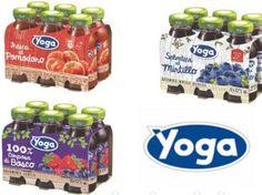 Tre nuovi succhi YOGA… a tutta salute! #sanomangiare