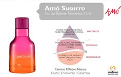 ♥ Amó Susurro. Mas informacion en: http://naturacosmeticos.com.ar/nuestrasmarcas/natura-amo/perfumeria/mujer/amo-sussurro-fragancia-femenina