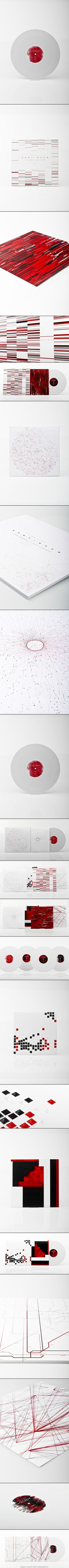 Continuum Records | Michael Gegenfurtner. This is stellar record album packaging curated by Packaging Diva PD